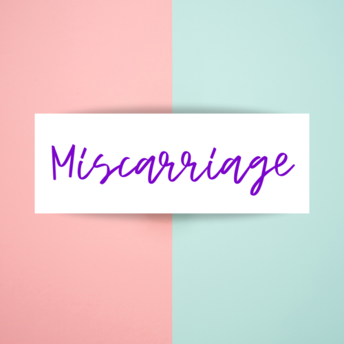 Reducing your chance of miscarriage